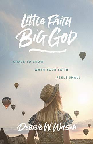 Little Faith, Big God: Grace to Grow When Your Faith Feels Small by [Debbie Wilson]