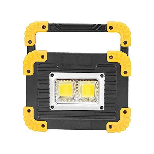 DOGKLDSF Alta Potencia Luminosa Trabajo Portableled100w, la protección del Medio Ambiente para la lámpara de iluminación Patio para el Ahorro de energía, Garaje, Pesca, Senderismo