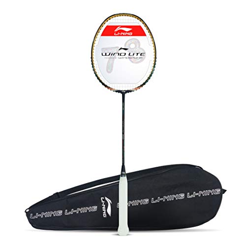 Li-Ning Wind Lite 700 Carbon Fibre Strung Badminton Racket with...