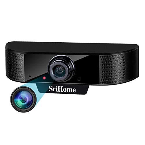 ENONEO Cámara Web HD 1080p PC Webcam PC con Microfono y Enfoque...