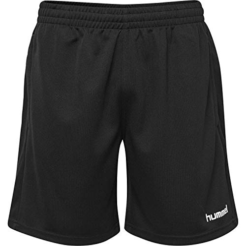 Hummel Herren CORE Poly Coach Shorts, Schwarz, S