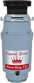 Waste King Gourmet Sink Disposer, 1/3 Hp