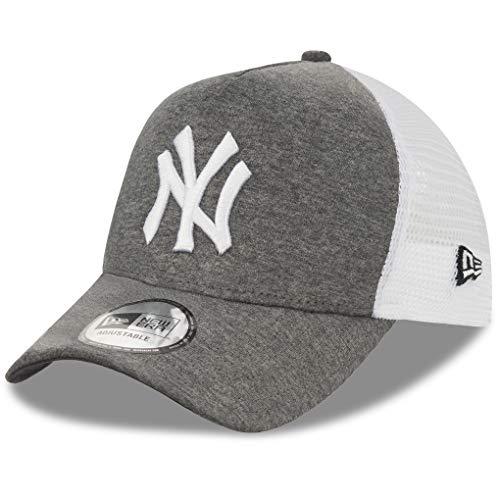 New Era Trucker Mesh Cap im Bundle mit UD Bandana NY Jersey Dk Grey #4098