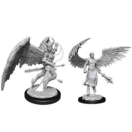 Dungeons & Dragons Nolzur's Marvelous Unpainted Minis: Deva & Erinyes