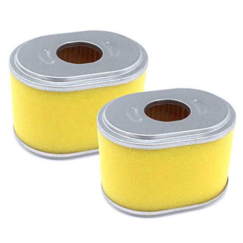 AISEN 2x Luftfilter passend für Lumag Rüttelplatte RP-1100 PRO RP1100 mit Loncin Motor