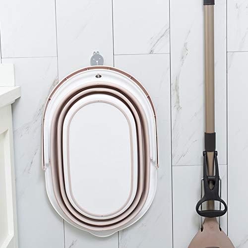 Gind Cubo de fregona, Barril de fregona Contenedor de Lavabo de Agua Contenedor de Cubo de plástico Cubo de Lavado de Coches para el baño doméstico