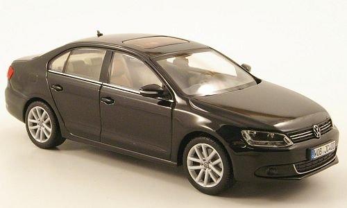 VW Jetta VI, metallic-schwarz, 2010, Modellauto, Fertigmodell, I-Minichamps 1:43