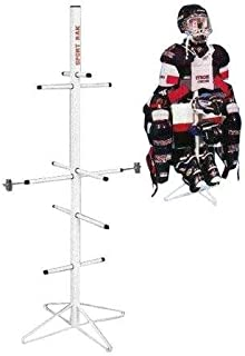 lacrosse equipment rack