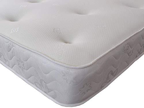Starlight Beds 3ft single mattress 90cm x 190cm Galaxy memory foam sprung mattress FBR1323