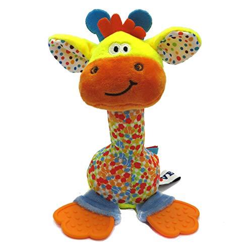 Chocalho com Mordedor Girafa, Love, Colorido