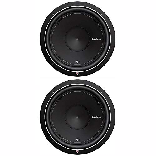 Rockford Fosgate Pair of 2 Punch P1 15' 1000W 4-Ohm SVC Subwoofers | 2 x P1S4-15