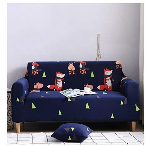 empty zeer elastisch bankstel, meubels, antislip beschermhoes van polyester elastaan, Fox