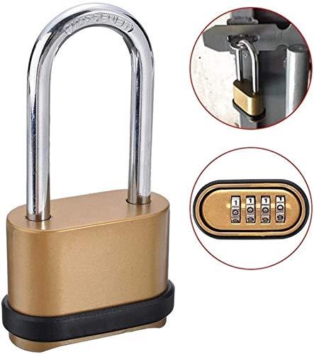 First Choice 1 stücke Messing vierstellige Zahl Kombination Passwort sperren Kombination Vorhängeschloss Sicherheitsschleuskabinett Tür Hardware Xping plm46