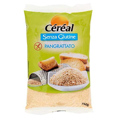 Céréal Pangrattato Senza Glutine - Mix farina di Riso, Miglio, Grano Saraceno, Mais - 250 g