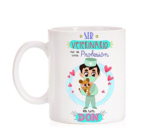 MardeTé Taza Ser Veterinario no es una Profesión es un Don. Taza Regalo para Veterinarios, Estudiantes Veterinaria, Profesores Amantes de los Animales.