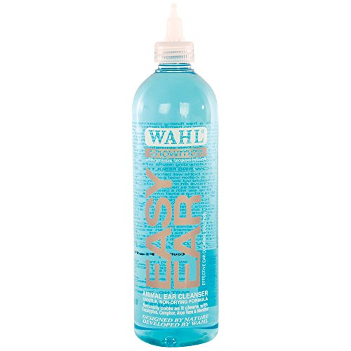 Wahl Dog Ear Cleaner Solution - Easy Ear Cleaner for Dogs, Cats, Pets, 500 ml