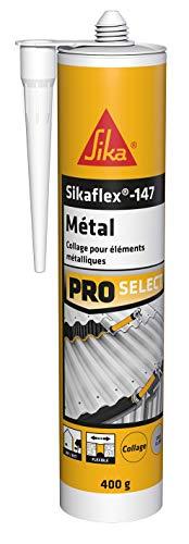 Sikaflex 147 - Pegamento polimérico especial de metal, masilla para todos los metales, interior y exterior, 290 ml