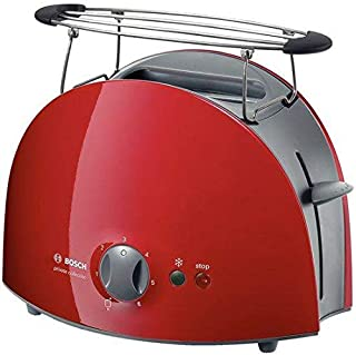 Bosch Private Collection 2 Slice Toaster, 900 W - TAT6104NGB Red