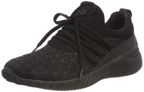 bugatti Damen 442393656900 Slip On Sneaker, Schwarz (Schwarz 1000), 36 EU