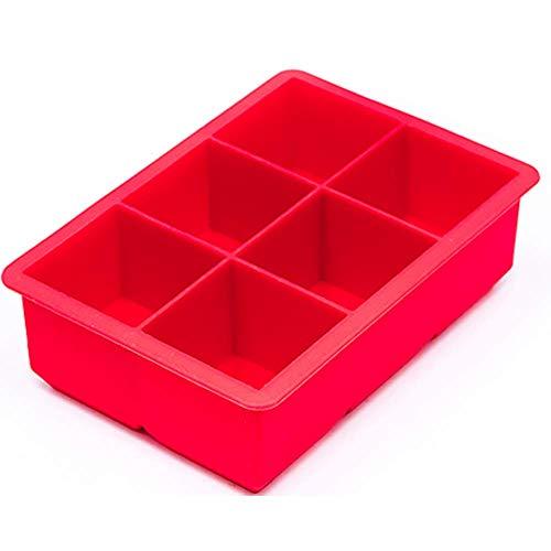 Forma Quadrada Silicone 6 Cavidades