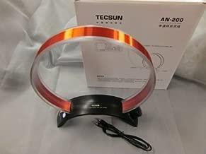 Tecsun AN-200 AM/MW Rotatable Tuneable Loop Gain Radio Antenna(No Battery Needed)
