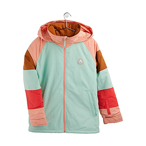 Burton – Skijacke / Snow Hart Faded Jade/Pink Dahlia Mädchen – Größe XL – Grün