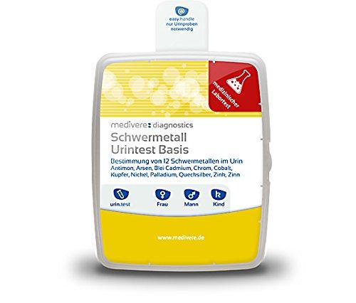 Schwermetall Urintest Basis
