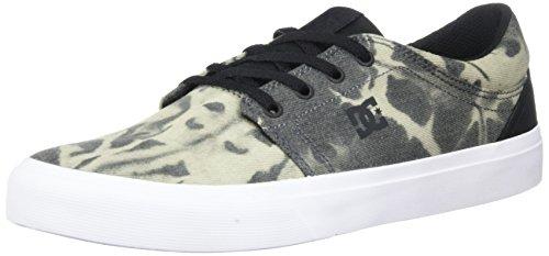 DC Shoes Trase TX SE, Zapatos de Skate Hombre, Black Destroy Wash, 41 EU