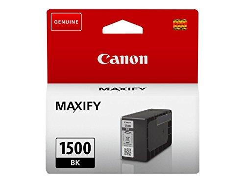 Canon PGI-1500 BK Tintentank Schwarz - 12,4 ml für MAXIFY Tintenstrahldrucker Original