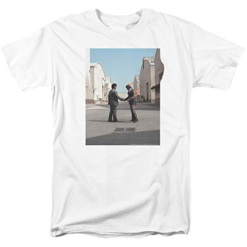 Pink Floyd Men's Wish You were Here T-Shirt Medium White