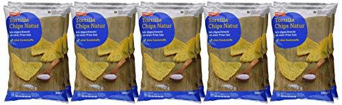 tegut... Tortilla Chips, Natur, 10er Pack (10 x 200 g)