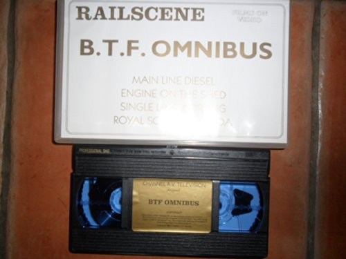 Railscene B.T.F. Omnibus Train VHS Video - Main Line Diesel Engine on The Shed Single Line Working Royal Scot in Canada