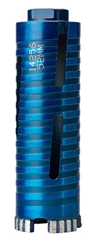 OX Tools BX10-052 Spectrum Superior Dry Diamond Helix Barrel Design Core Drill, Blue, 52mm