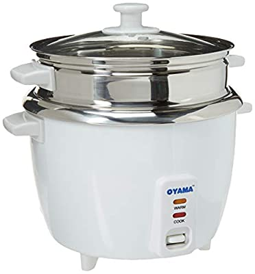 OYAMA Stainless 16-Cup (Cooked) (8-Cup UNCOOKED) Rice Cooker