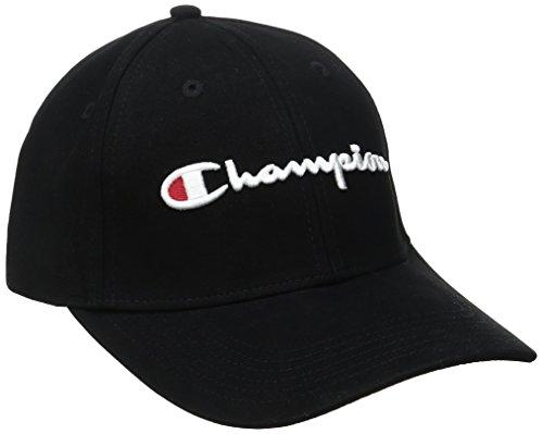 Champion Life Jungen Classic Twill Hat Baseball Cap, schwarz, Einheitsgröße