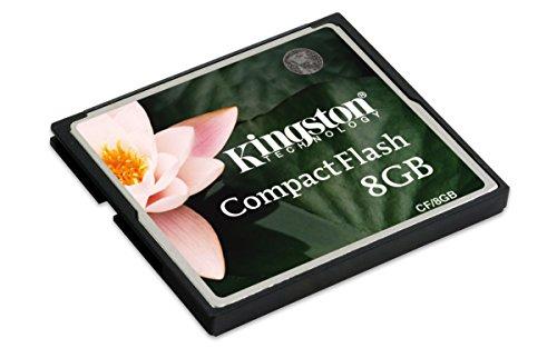 7. Kingston 8GB CompactFlash Memory Card
