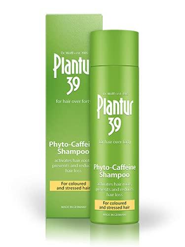 Plantur 39 Phyto-Caffeine Shampoo für coloriertes und strapaziertes Haar, 250 ml
