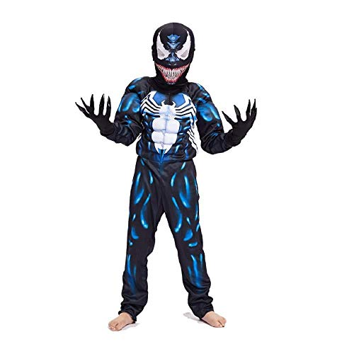 Venom Spiderman Kostüme Für Kinder Action Dress Ups Und Zubehör Party Kostüm Cosplay,M(165-183cm)