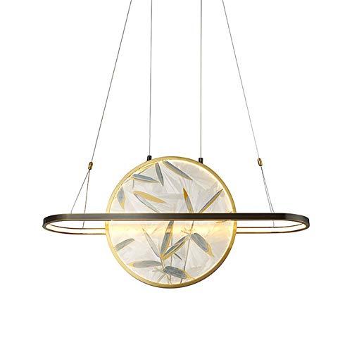 N/Z Home Equipment Modern Led Kronleuchter für Büro Konferenzraum Esszimmer Wohnzimmer Schlafzimmer Küche Chinesisch Deckenleuchte Lampe-Weiß 100x40cm (39x16inch)