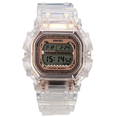 Lancardo Reloj Electrónico de Hombre Mujer Unisex Reloj Dep
