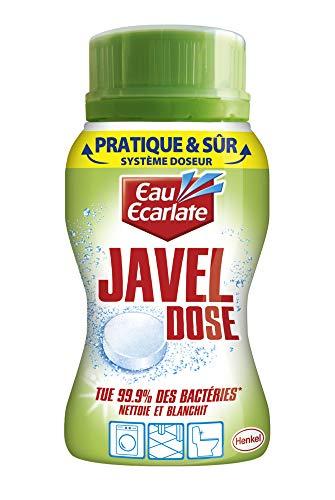 Eau Ecarlate Javel Dose – Doseur 40 Pastilles