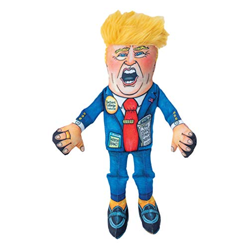 "FUZZU Donald Trump Special Edition Political Parody Novelty Cat Toy - Durable & Non-Toxic with U.S. Grown Certified Organic Catnip (8"")"