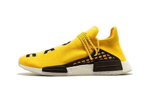 adidas NMD Pharrell Williams Human Race Yellow OG - Yellow/Black/White Trainer Size 7 UK