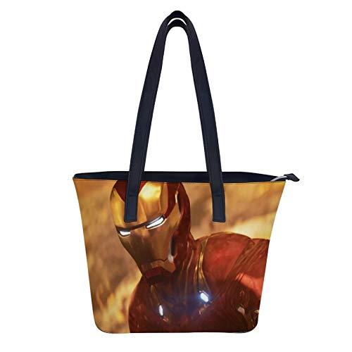 Road to Avengers Endgame Sac à bandoulière imperméable en cuir pour femme