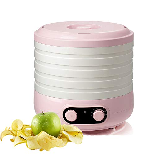 Why Choose Food Dehydrator Machine,5 Trays Food Preserver Adjustable Height, Perfect for Healthy & N...