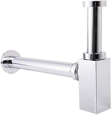 Luxury Chrome Minimalist Small Space Bottle Trap Waste For Bathroom Sink Basin Amazon De Diy Tools