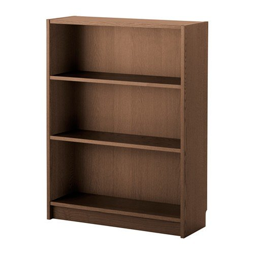 IKEA Billy Bücherregal in braun; Eschenfurnier; (80x28x106cm)