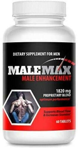 MaleMax Edge - Male Enlargement and Enhancement Pills - Fast Performance Enhancer for Men - Formula for Length, Girth and Stamina - 30 Day Supply