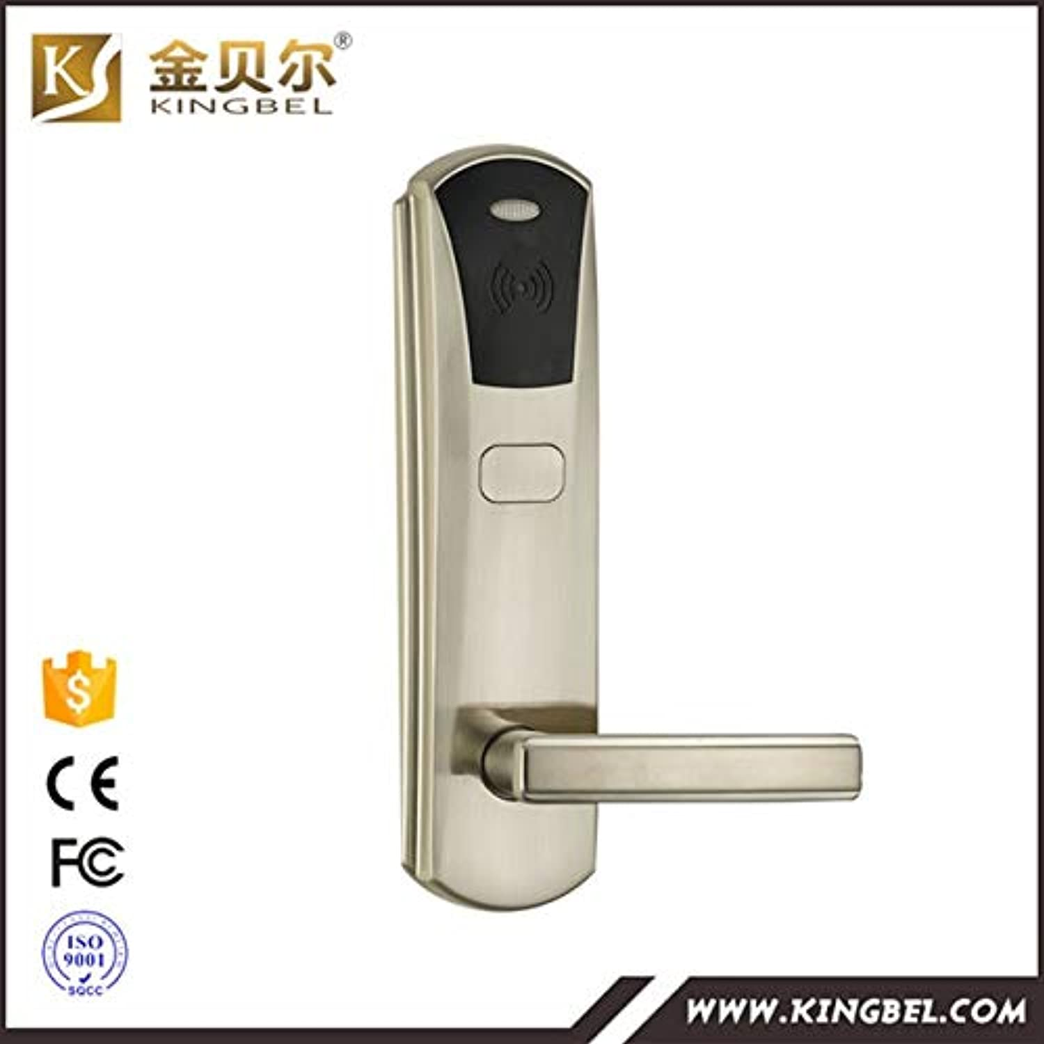 Smart Modern Hotel System Lock with Card offerd Free(color  82N)