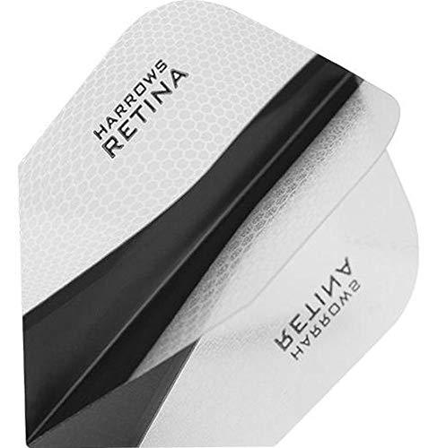 HARROWS retina-x Dart Flights–5sets (15)–100micron Extra Stark–Standard–klar